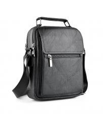 Черна мъжка ежедневна чанта Gustavo