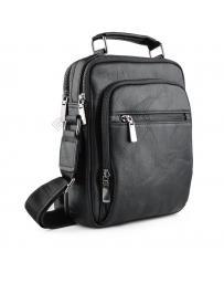 Черна мъжка ежедневна чанта Cristobal