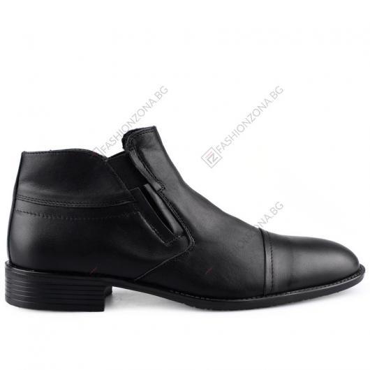 Черни мъжки елегантни боти Patricio