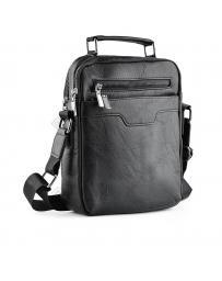 Черна мъжка ежедневна чанта Laurencio