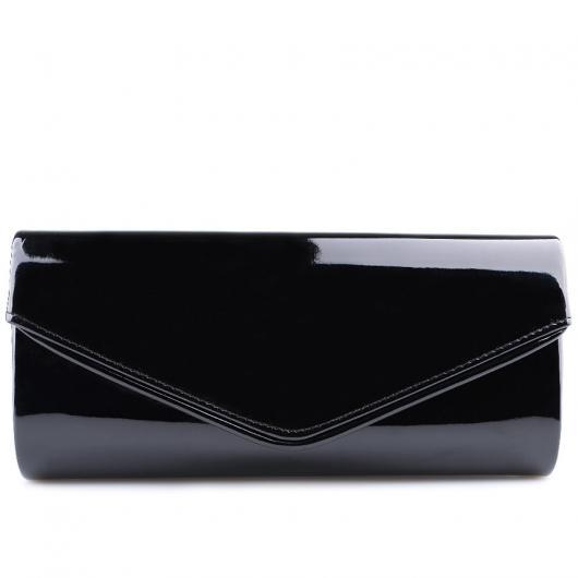 Черна дамска елегантна чанта Natale