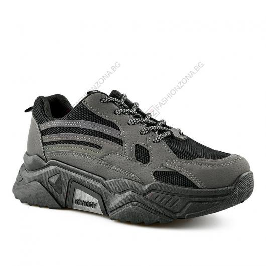 Черни дамски ежедневни обувки Irenio