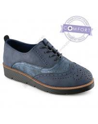 Сини дамски ежедневни обувки Erasmo