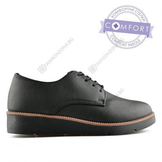Черни дамски ежедневни обувки Cirilo