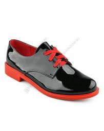 Черни дамски ежедневни обувки Placido