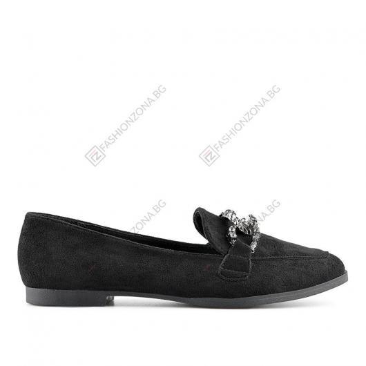 Черни дамски ежедневни обувки Chago