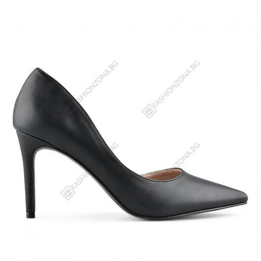 Черни дамски елегантни обувки Bolivar