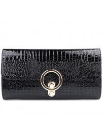Черна дамска елегантна чанта Hayley в online магазин Fashionzona