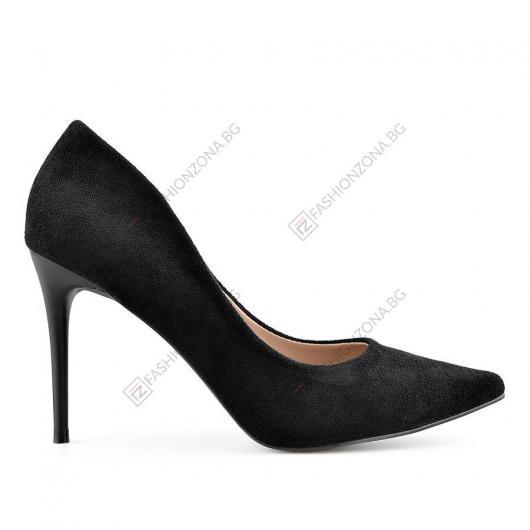 Черни дамски елегантни обувки Florentino