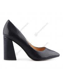 Сини дамски елегантни обувки Antonello
