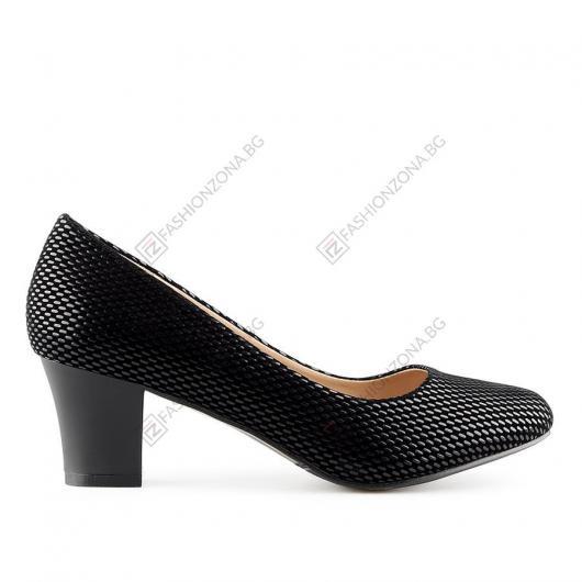 Черни дамски елегантни обувки Javi