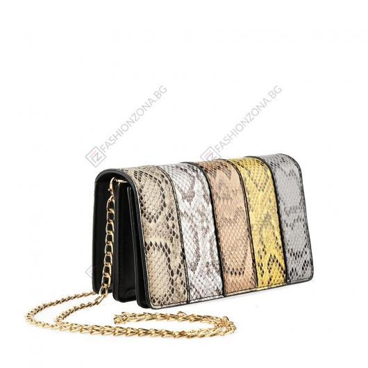 Черна дамска ежедневна чанта Filippa