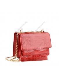 Червена дамска ежедневна чанта