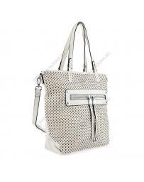 Бяла дамска ежедневна чанта Yaiza