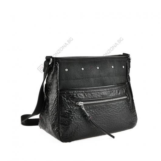 Черна дамска ежедневна чанта Arlet