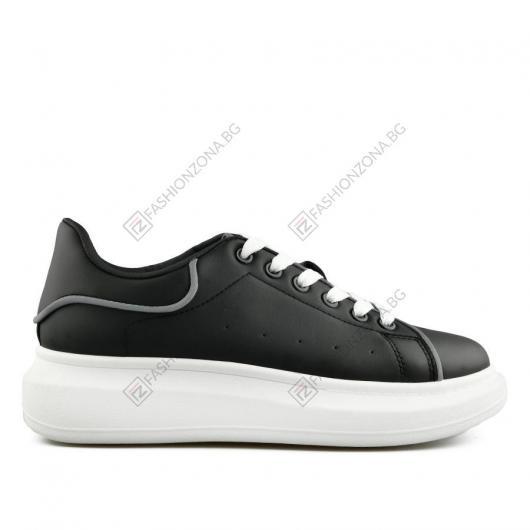 Черни дамски ежедневни обувки Felixa