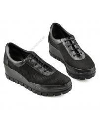Черни дамски ежедневни обувки Erendira