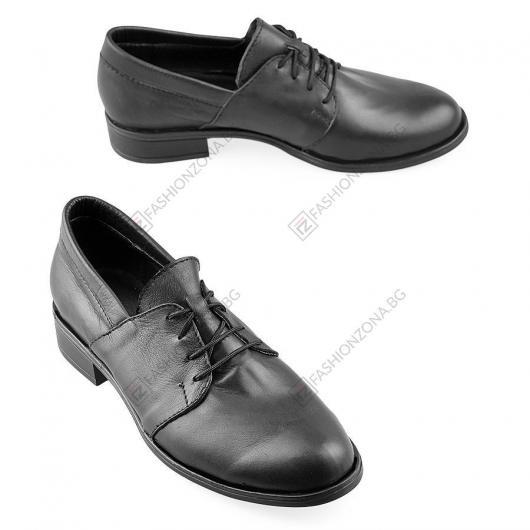 Черни дамски ежедневни обувки Alaricia