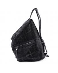 Черна дамска раница Parker в online магазин Fashionzona