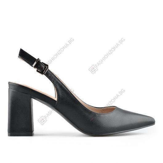 Черни дамски елегантни сандали Luisetta