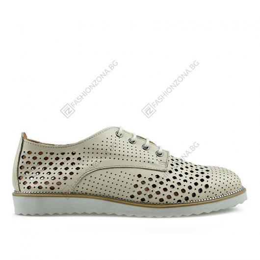 Бежови дамски ежедневни обувки Gaia