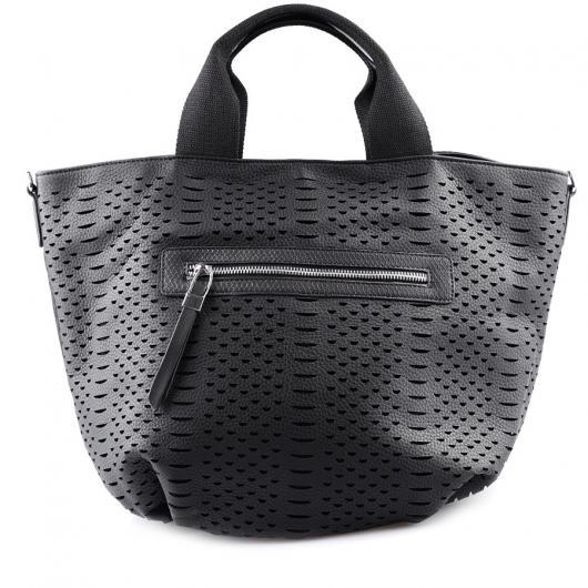 Черна дамска ежедневна чанта Margarita