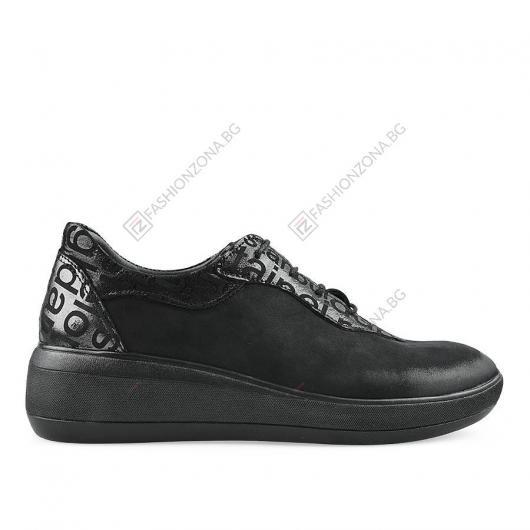 Черни дамски ежедневни обувки Ludovica