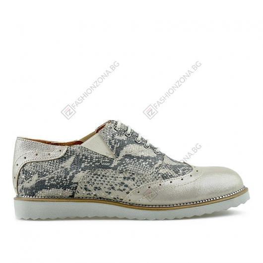 Бежови дамски ежедневни обувки Madena