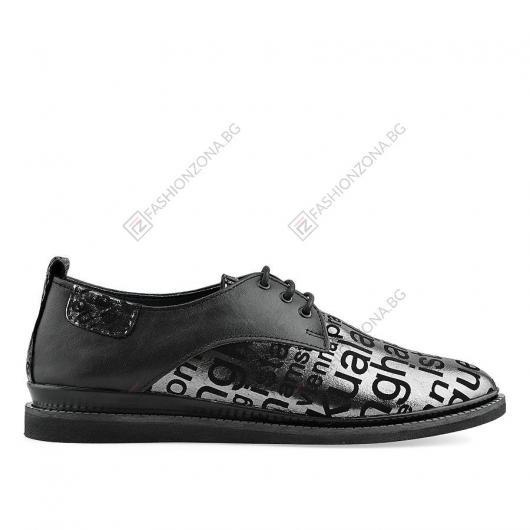 Черни дамски ежедневни обувки Jorgina