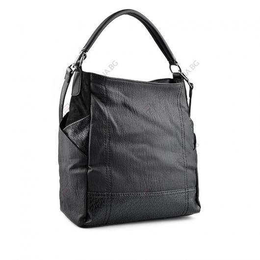 Черна дамска ежедневна чанта Baja