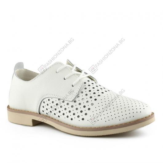 Бели дамски ежедневни обувки Zerlina
