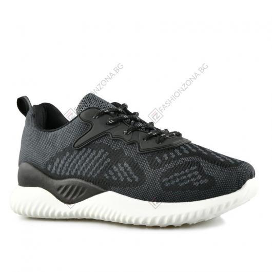 Черни дамски ежедневни обувки Ballencia