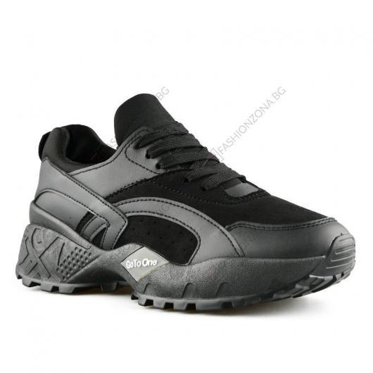 Черни дамски ежедневни обувки Fiamma