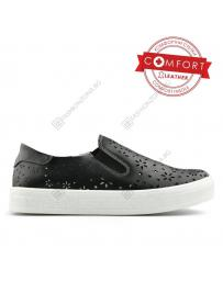 Черни дамски ежедневни обувки Loredana