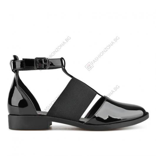 Черни дамски ежедневни сандали Peni