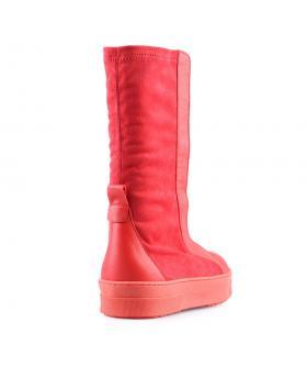 Червени дамски кецове 0127255 в online магазин Fashionzona