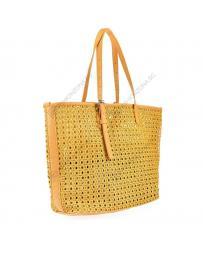 Жълта дамска ежедневна чанта Rafela