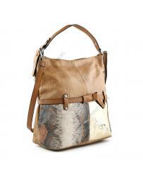 Кафява дамска ежедневна чанта Tanis