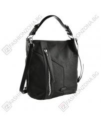 Черна дамска ежедневна чанта Georginita