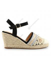 Черни дамски ежедневни сандали Emala