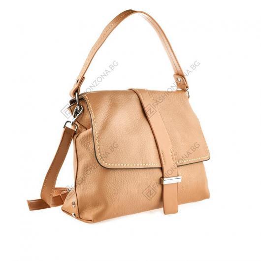 Кафява дамска ежедневна чанта Annetta