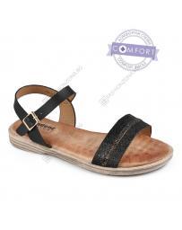 Черни дамски ежедневни сандали Margarida