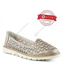 Златисти дамски ежедневни обувки Izabella