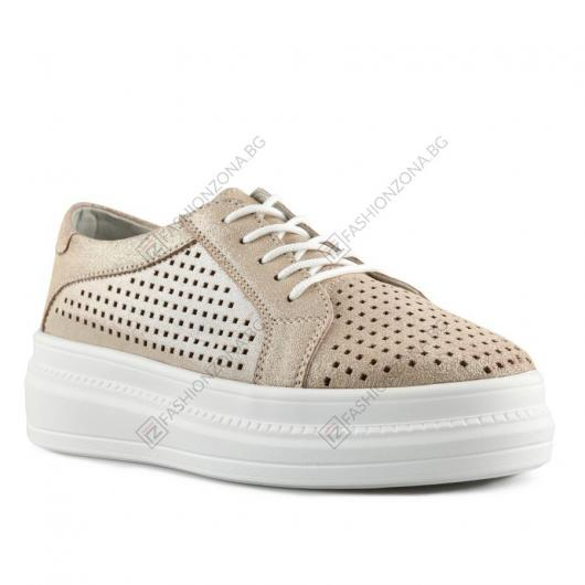 бежови дамски ежедневни обувки Rosalin