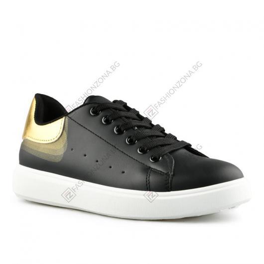 Черни дамски ежедневни обувки Cefariana