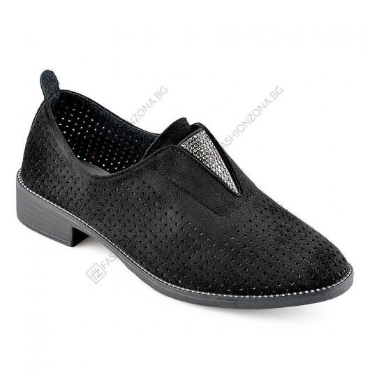 Черни дамски ежедневни обувки Guillermina