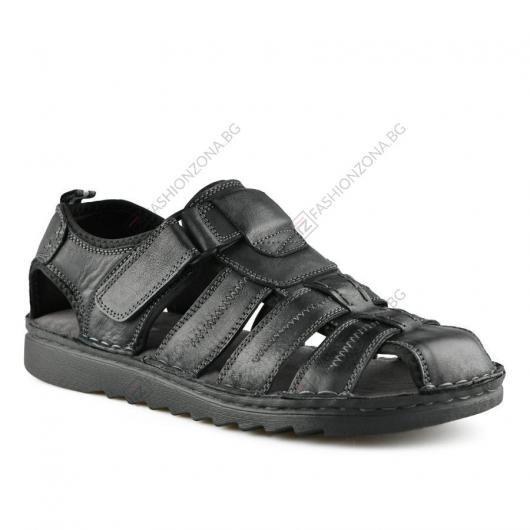 Черни мъжки ежедневни сандали Giacinto
