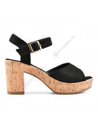 Черни дамски ежедневни сандали Anita