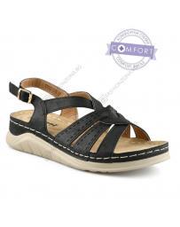 Черни дамски ежедневни сандали Socorra