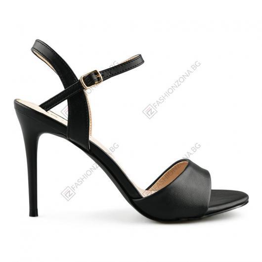 Черни дамски елегантни сандали Ane